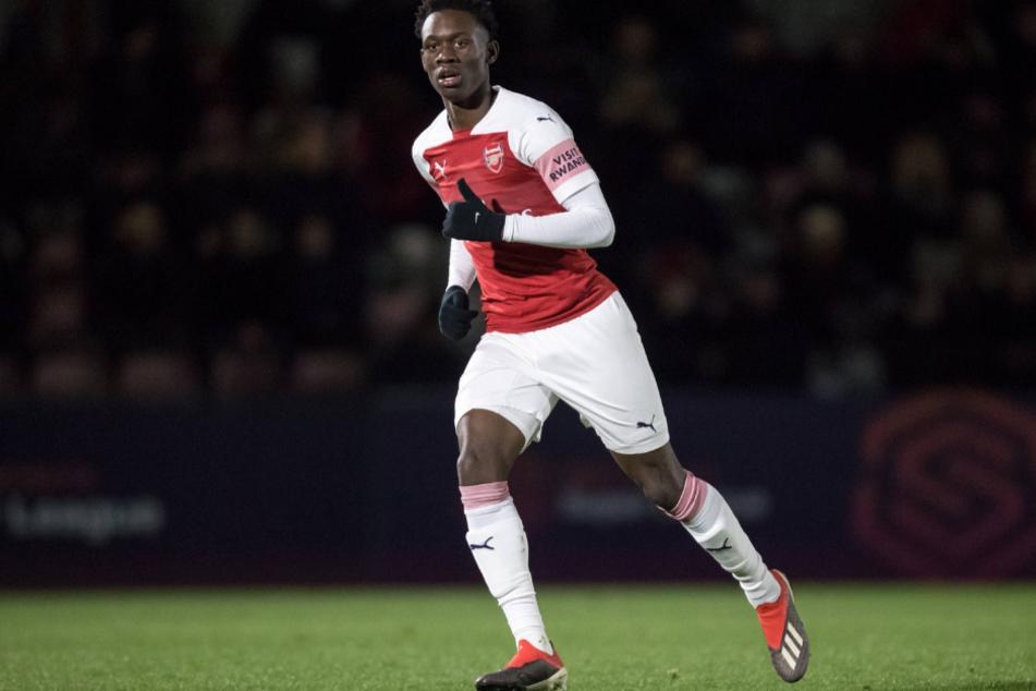 Kickt derzeit für die Reserve des FC Arsenal London: Folarin Balogun (19).