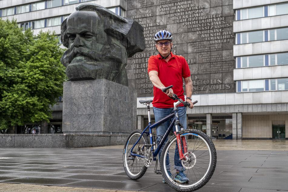 Chemnitz: Überdachte Stellplätze: Wie lange sollen Radfahrer darauf noch warten?