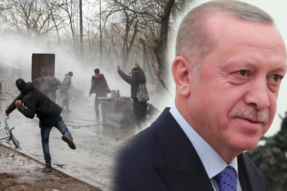 """""""Hey Griechenland"""": Erdogan will, dass Athen Tausende Flüchtlinge reinlässt"""