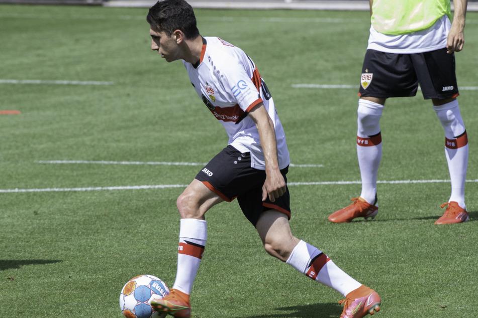 Ömer Beyaz (17) könnte beim VfB der nächste Senkrechtstarter werden.