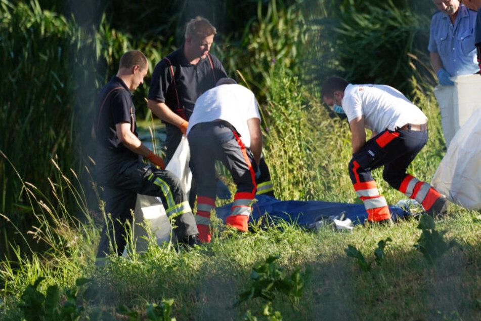 Hoyerswerda: Passanten finden Toten in der Schwarzen Elster