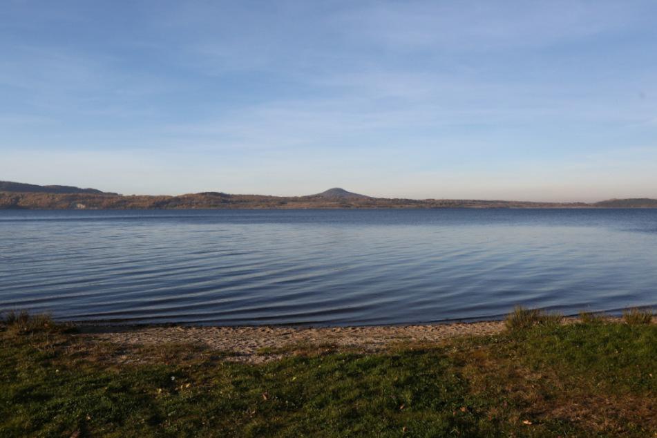 Der Berzdorfer See bleibt so leer, wie auf diesem Bild (Archiv).