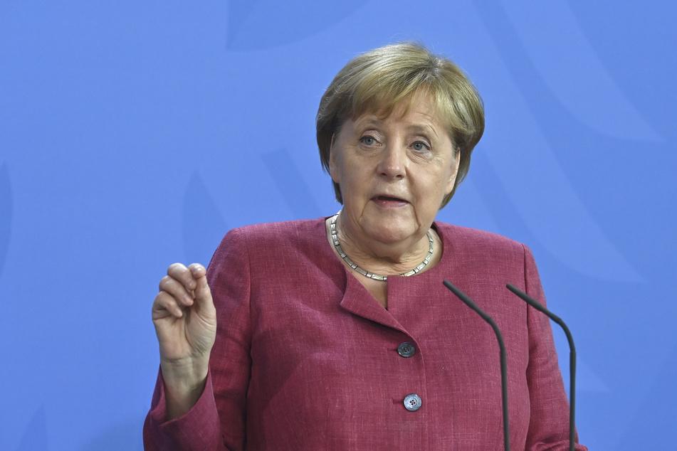 Bundeskanzlerin Angela Merkel (67, CDU) wird die Festrede der Einheitsfeierlichkeiten in Halle halten.