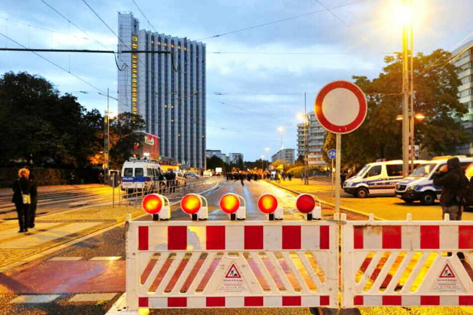 Chemnitz: Vollsperrung in Chemnitzer City: Brückenstraße am Freitag stundenlang dicht