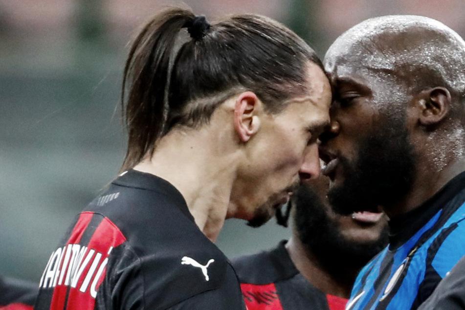 """Mailand brennt! Ibrahimovic und Lukaku kurz vor Schlägerei, """"Ibra"""" fliegt, Siegtreffer in 90.+6!"""