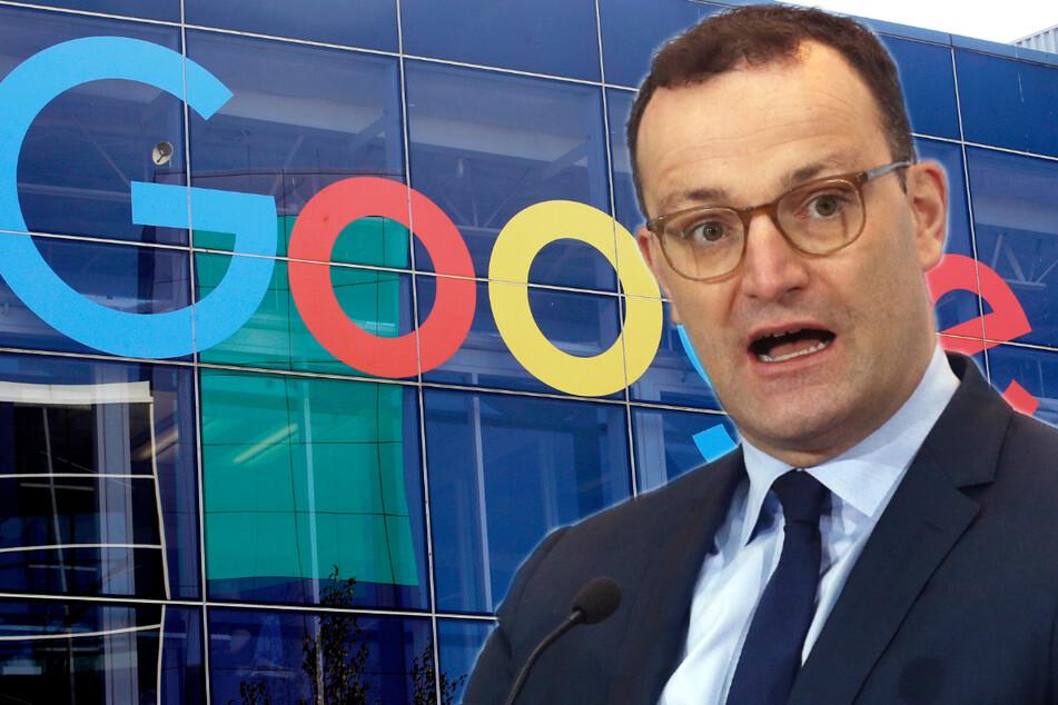 Zusammenarbeit mit Jens Spahn bringt Google Verfahren ein