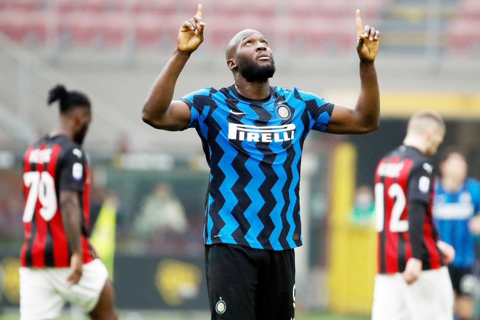 Romelu Lukaku (28, M.) von Inter Mailand.