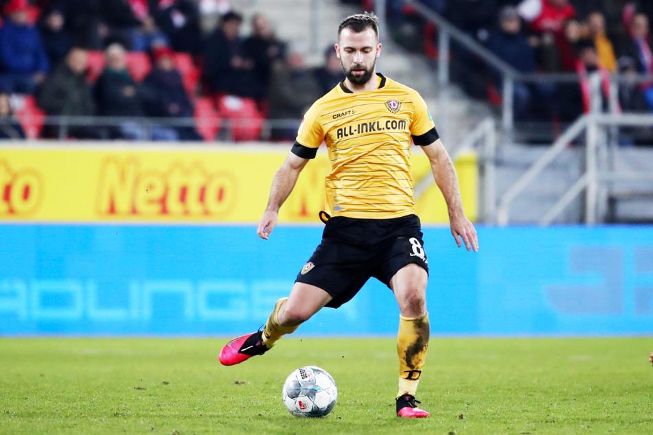 Josef Husbauer (31) spielte von Mitte Januar bis Ende Juni 2020 bei Dynamo Dresden, stieg mit der SGD leider aus der 2. Bundesliga ab.