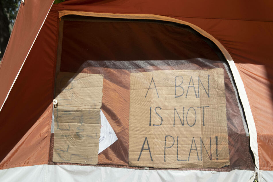 Those experiencing homelessness in Austin might be ticketed if they camp in prohibited areas starting Monday.