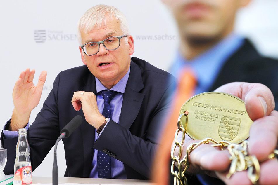 Rekord! Steuerfahnder sichern in Sachsen 95 Millionen Euro Schwarzgeld