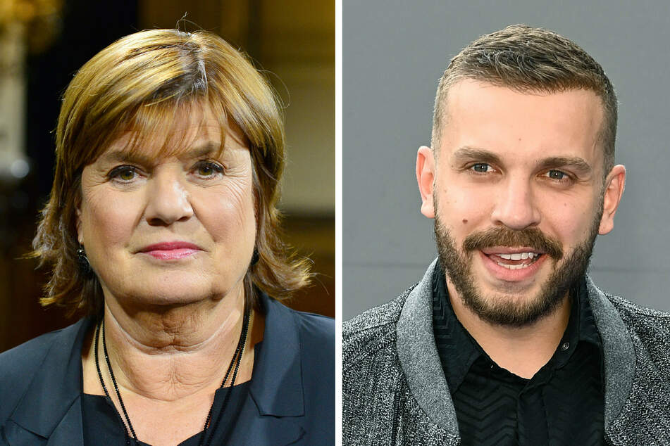 Die Moderatorin Christine Westermann (72) und der Schauspieler Edin Hasanovic (28) (Bildmontage).