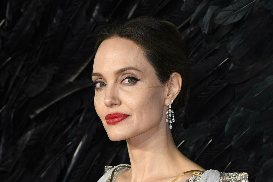 Angelina Jolie is selling a painting by Winston Churchill.