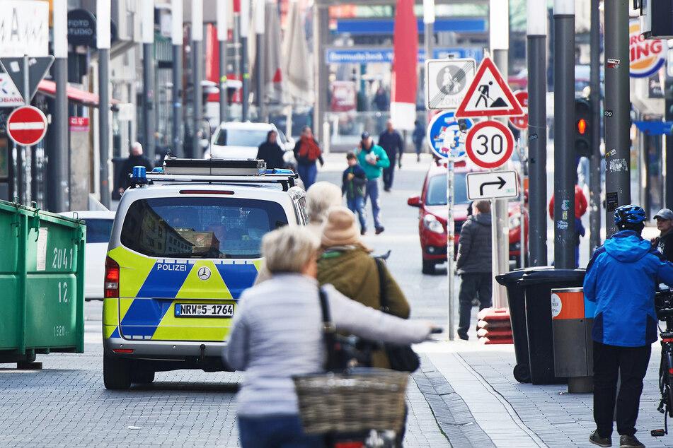 Die Polizei wurde zu dem Supermarkt im Stadtteil Hofstede alarmiert. (Symbolbild)