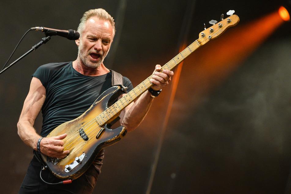 Da durfte er noch: Sting (68) im Juni 2019 in Hannover.