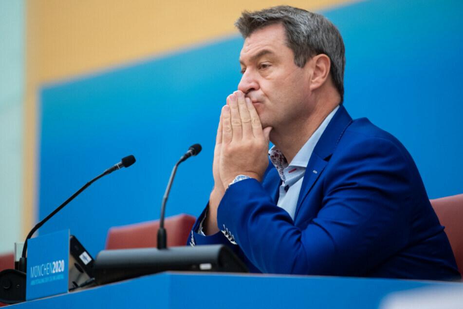 CSU-Chef Markus Söder (54) geht es nicht mehr um Prozente, sondern nur noch um den Platz.