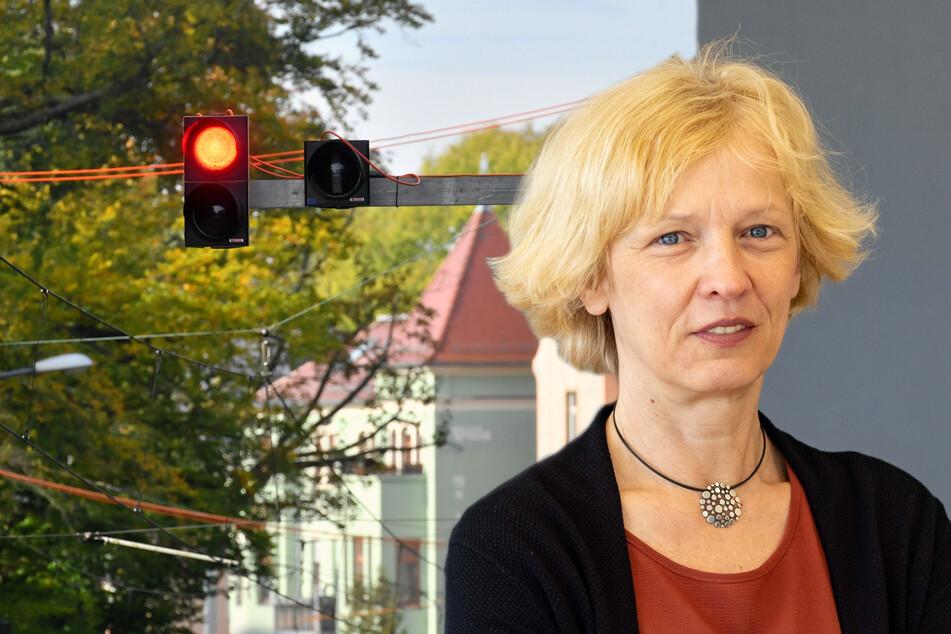 Dresden: Die Sinnlos-Ampel von der Bautzner: Hier sehen Autofahrer ständig Rot