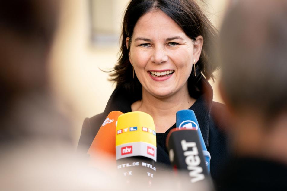 Annalena Baerbock (40) ist die jüngste Kanzlerkandidatin, die es je gab.
