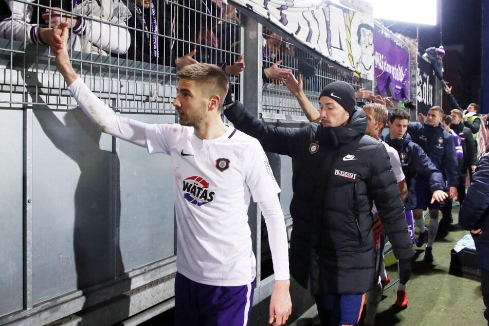 Marko Mihojevic verabschiedet sich bereits nach einem Jahr von den Auer Fans.
