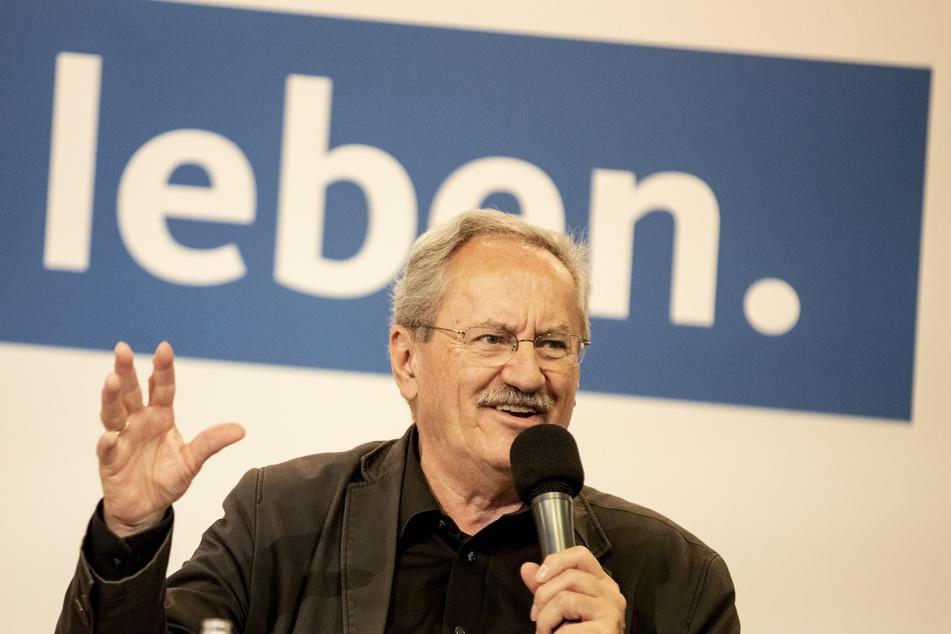 Christian Ude (SPD, 72), ehemaliger Oberbürgermeister von München, sieht seine Partei auf einem guten Weg.