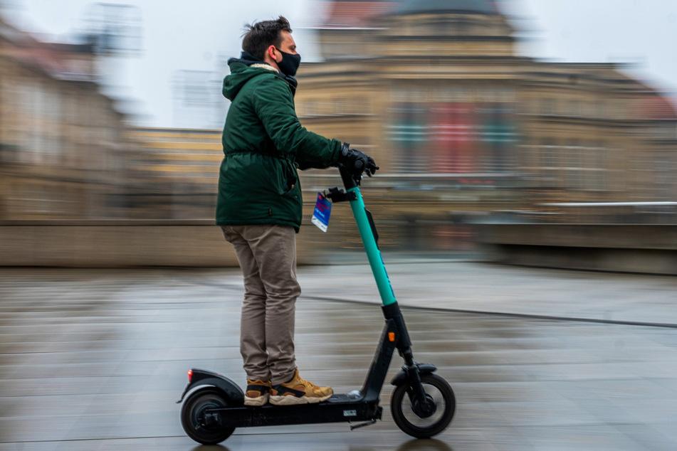 Chemnitz: Durch Chemnitz sausen? Roller-Flotte wird aufgestockt
