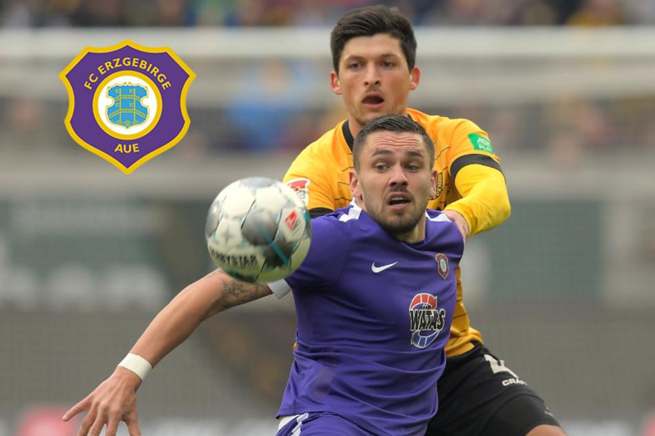 Bitter! FC Erzgebirge Aue verschenkt Derbysieg in Dresden