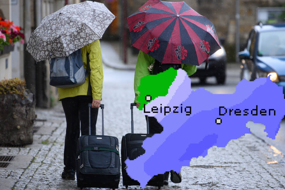 Sachsen startet mit Gewitter und Regen in die neue Woche: Gibt es einen Lichtblick?