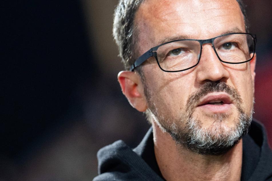 Das Foto aus dem September 2019 zeigt Fredi Bobic (49), den Sportdirektor von Eintracht Frankfurt.