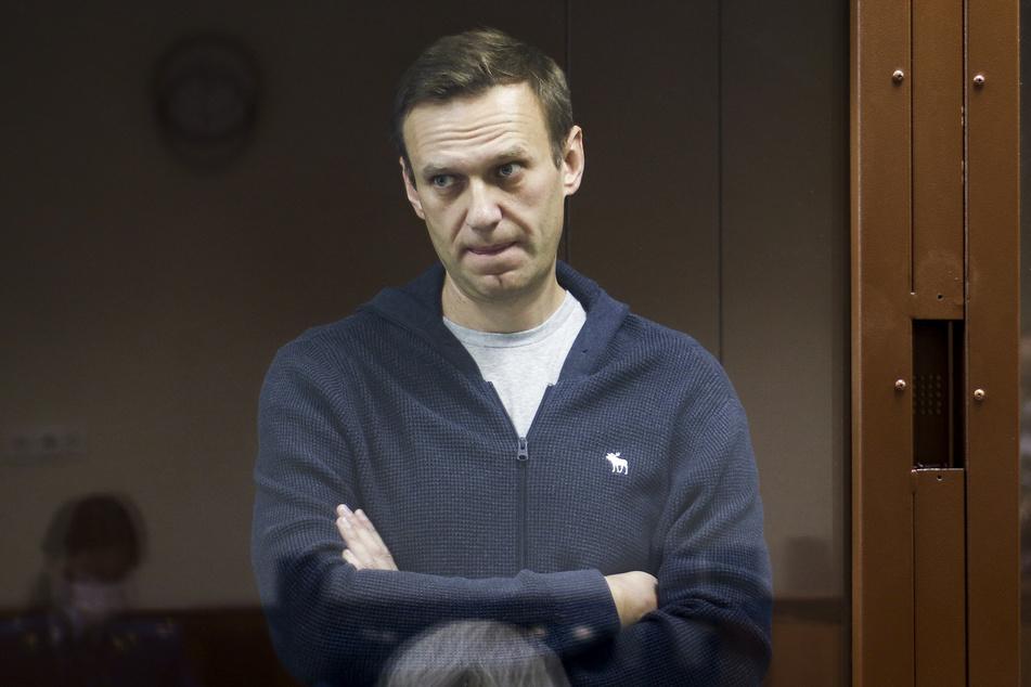 Der Kreml-Kritiker Alexej Nawalny wird in einem Straflager rund 100 Kilometer östlich von Moskau gefangen gehalten.