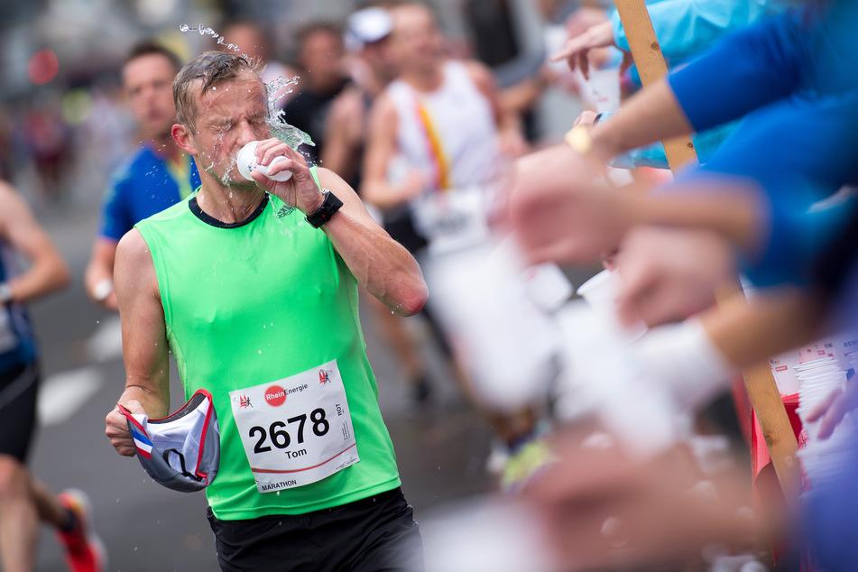 Der Köln Marathon muss aufgrund der Pandemie erneut ausfallen. (Archivbild)