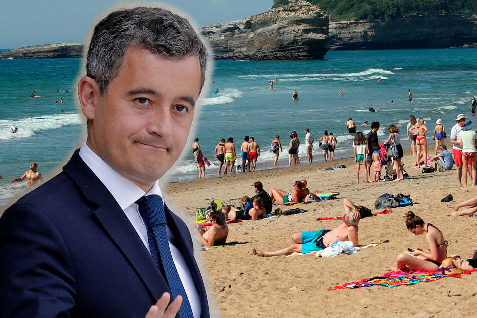 French Interior Minster defends topless sunbathing