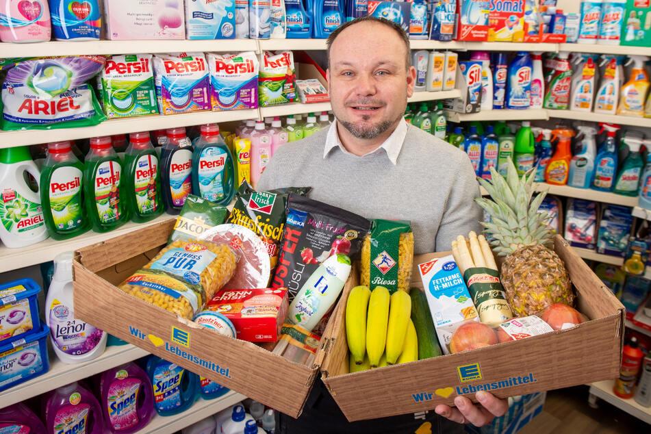 Marko Hoffmann steht von früh bis abends in seinen Läden und bietet zudem einen Lieferservice.