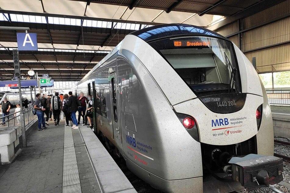 Die Mitteldeutsche Regiobahn (MRB) verbindet Chemnitz unter anderem mit Dresden, Leipzig und Zwickau. Vom GDL-Streik ist das Unternehmen nicht betroffen, die Züge fahren nach Plan.