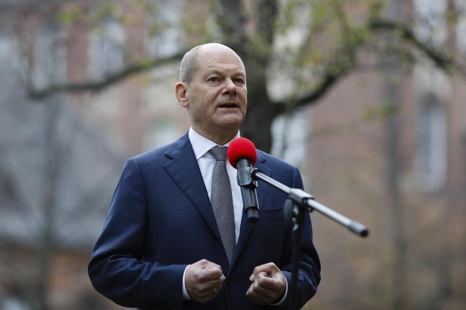 Olaf Scholz (SPD) ist der deutsche Bundesfinanzminister.
