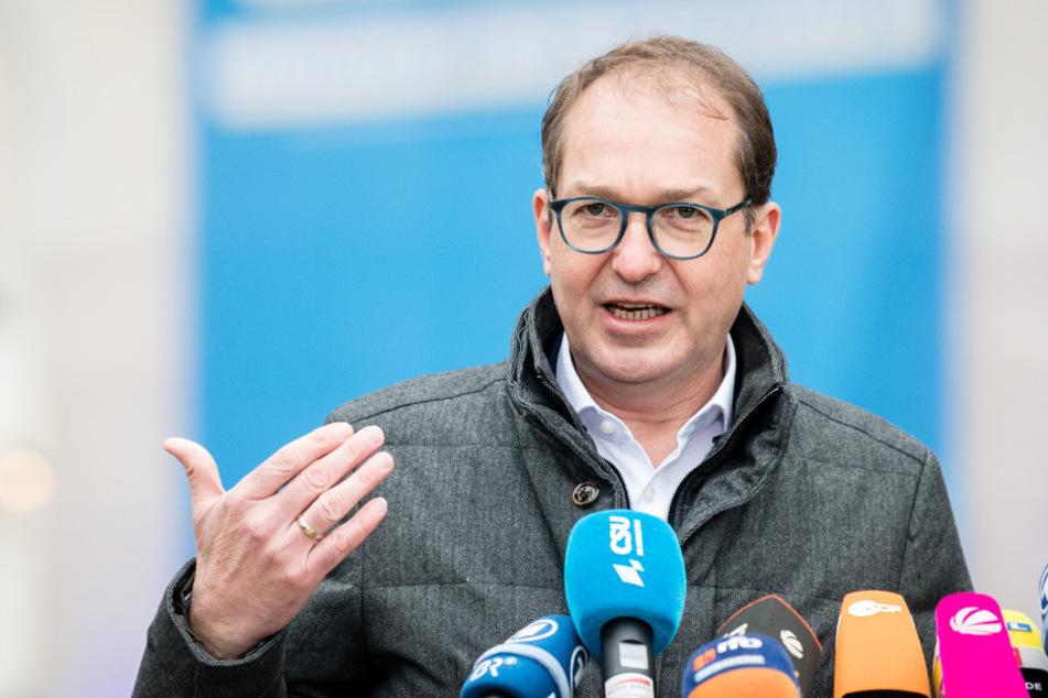 Vorsitzender der CSU-Landesgruppe im Bundestag, Alexander Dobrindt.