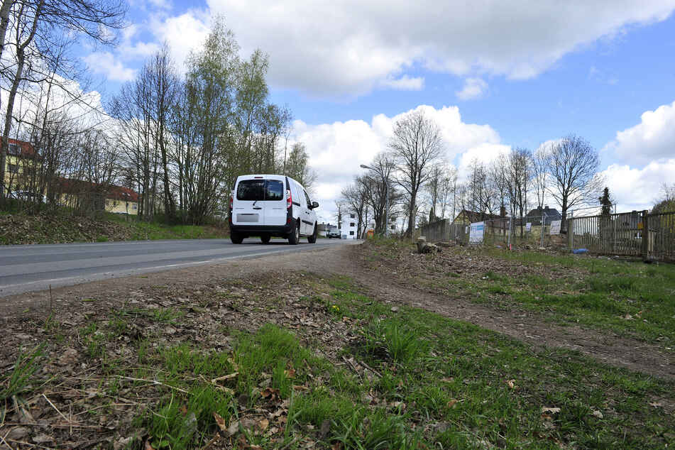 An der Unritzstraße in Rabenstein beginnt diese Woche der Bau eines Fußweges.