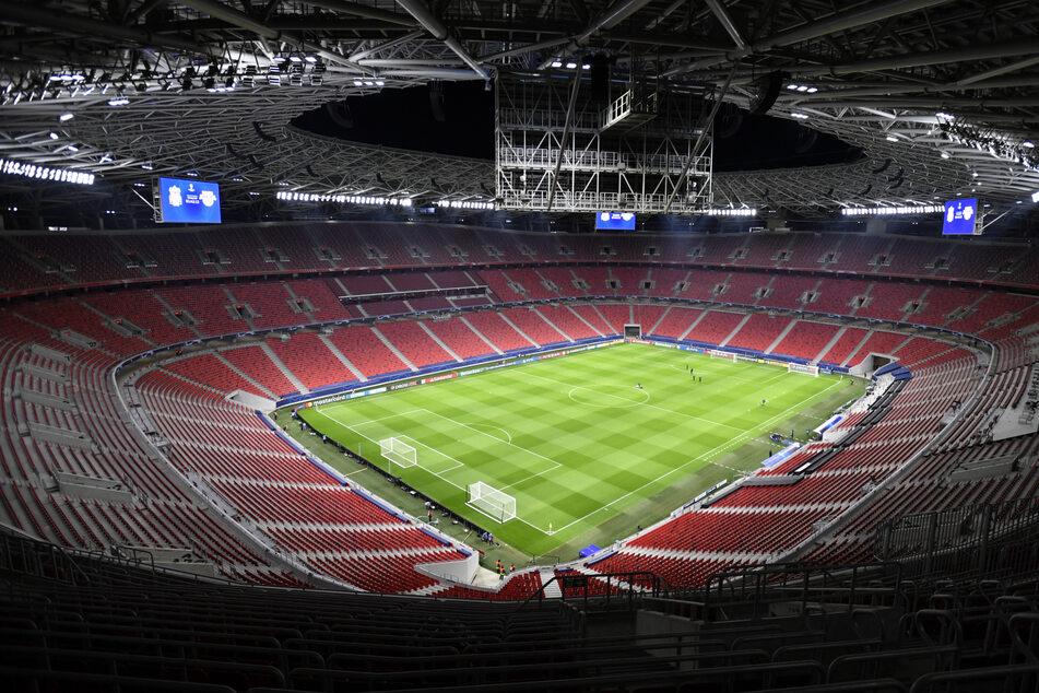 Puskas Arena: Das Stadion soll bei der EM voll werden.