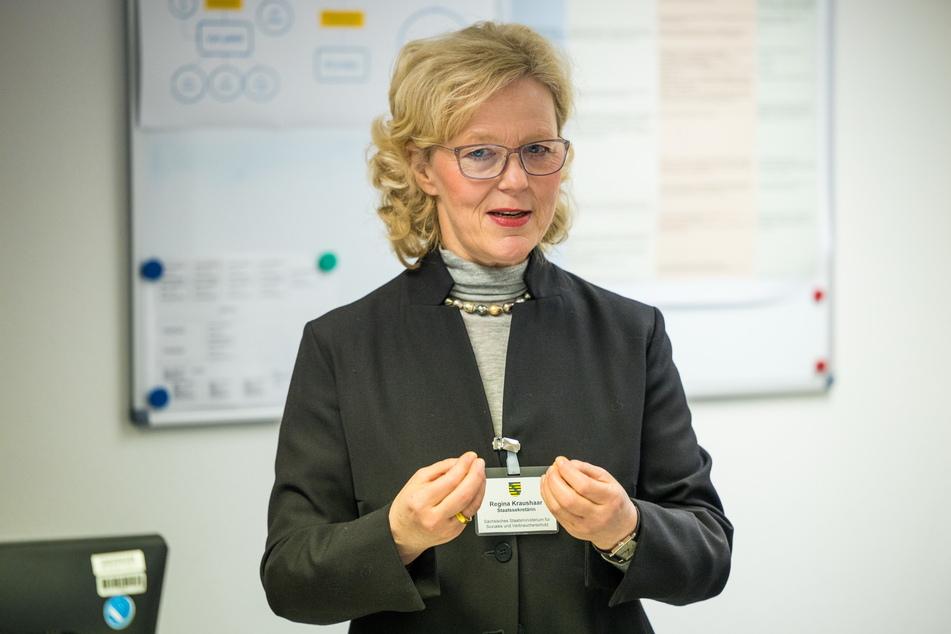 """Direktionspräsidentin Regina Kraushaar (56): """"Die LDS ist verpflichtet, die Ausreisepflicht zwangsweise durchzusetzen."""""""