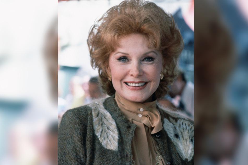 US-Schauspielerin Rhonda Fleming, aufgenommen in Hollywood. Der Star aus der goldenen Ära Hollywoods ist im Alter von 97 Jahren gestorben.