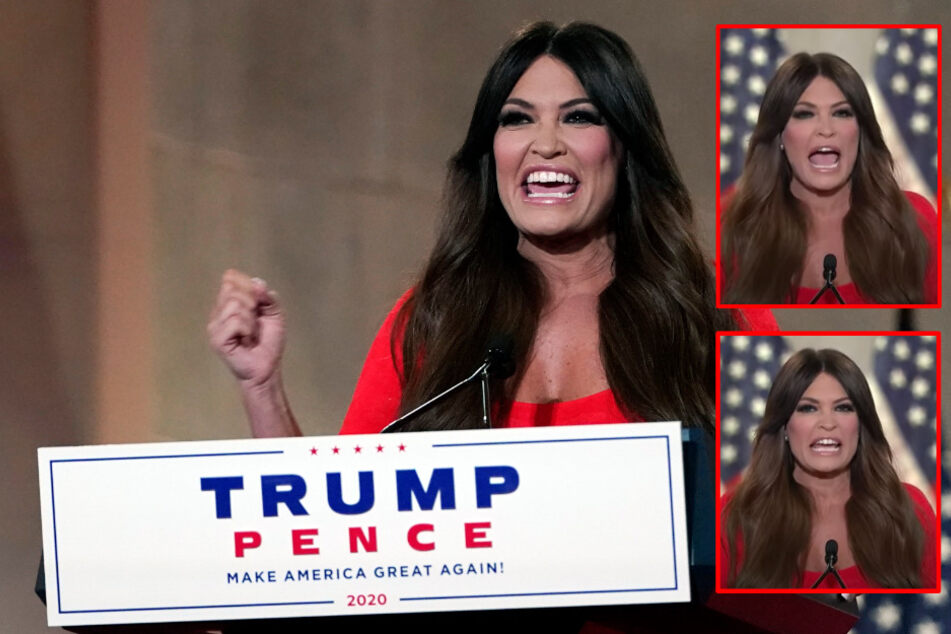 Trump supporter Guilfoyle delivers screaming speech at Republican convention