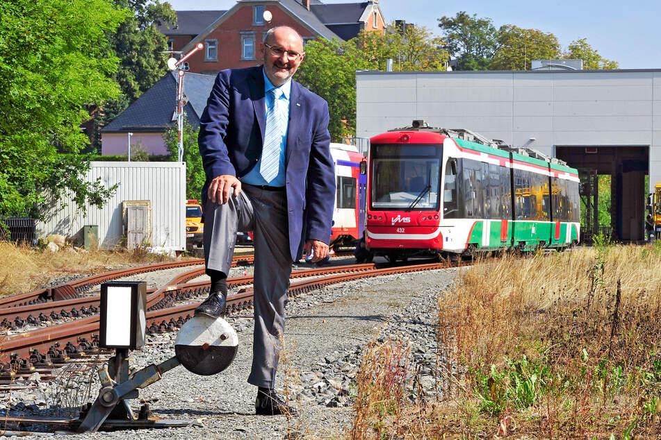 """Für VMS-Chef Harald Neuhaus (63) ist das Bauvorhaben ein """"Meilenstein""""."""