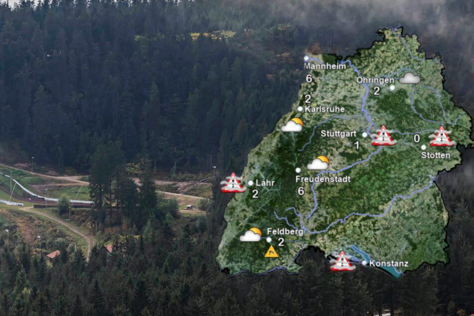 In Baden-Württemberg werden Sturmböen erwartet