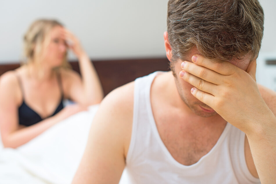 If you are not happy after sex, you should talk to your partner.