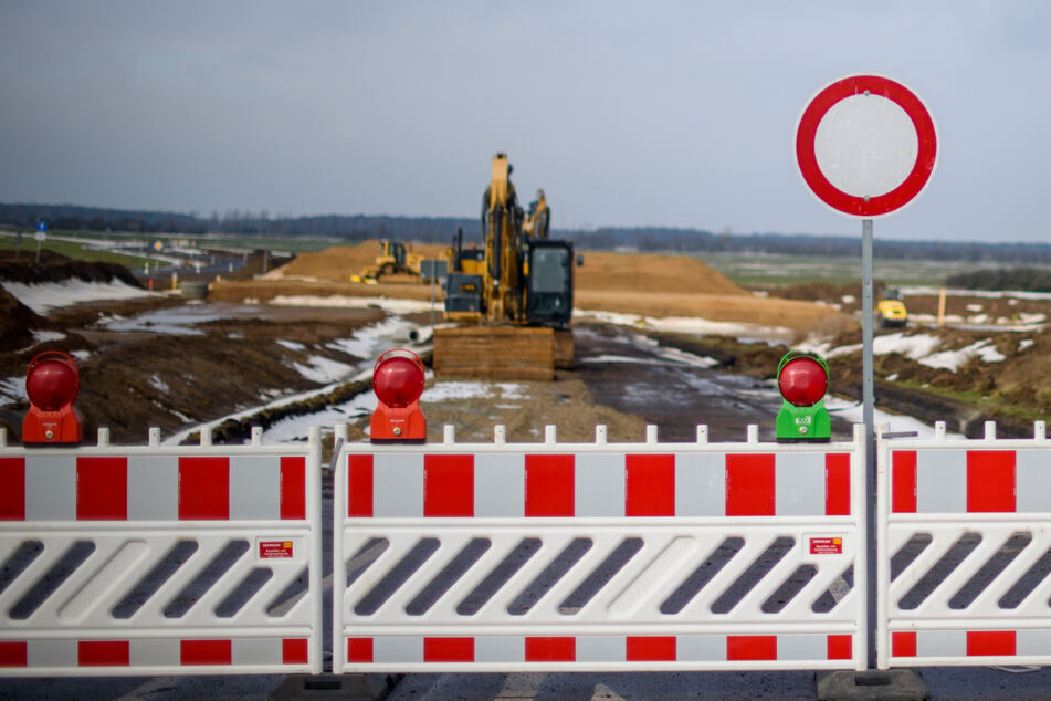 Deutschlands größte Baustelle: Stoppt das Winterwetter den A14-Bau?