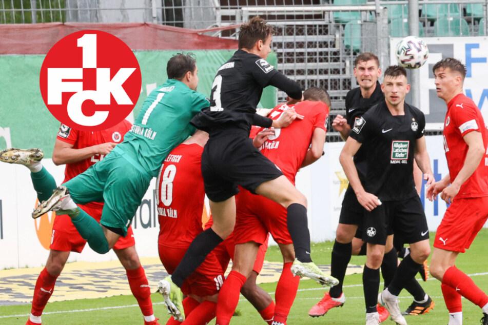 Lautern beweist klasse Moral in Köln: Drittliga-Abstiegskampf spannend bis zum Schluss