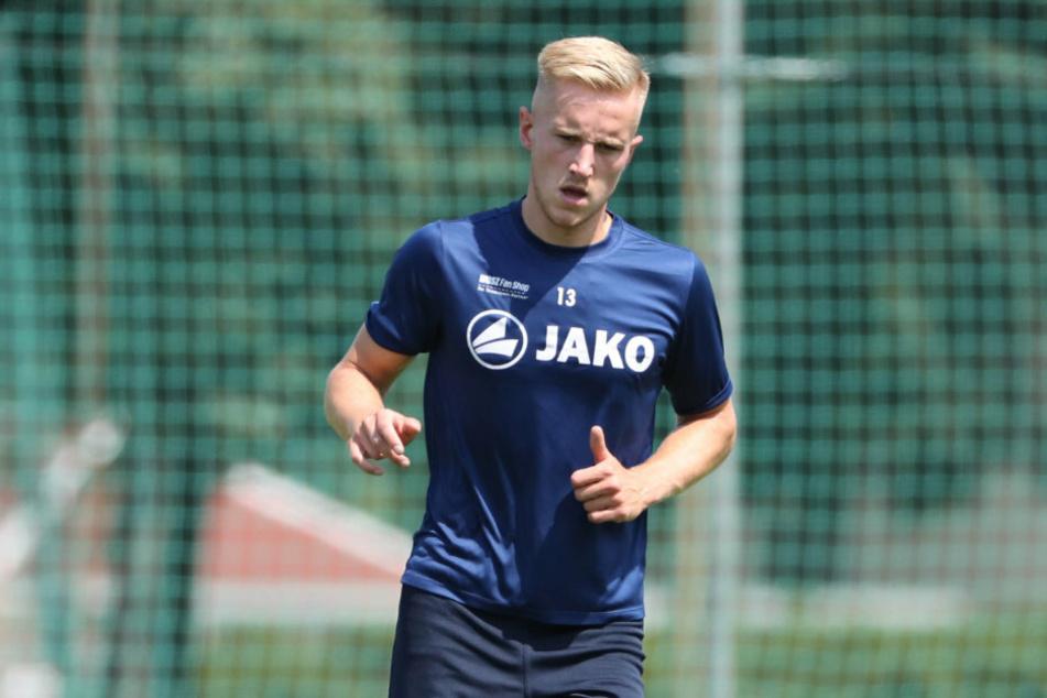 Es ist sein dritter Anlauf beim Chemnitzer FC: Alexander Dartsch wechselte vom ZFC Meuselwitz zurück an die Gellertstraße.