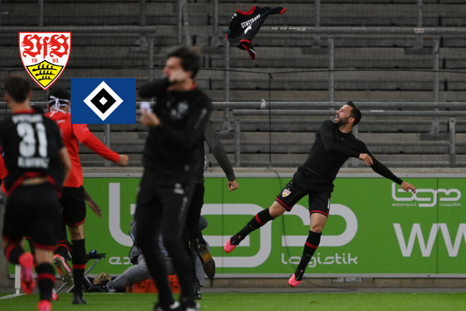 VfB Stuttgart mit Last-Minute-Sieg im Aufstiegskracher gegen den HSV!