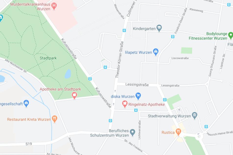 Zu dem Unfall kam es in derWurzner Theodor-Körner-Straße.