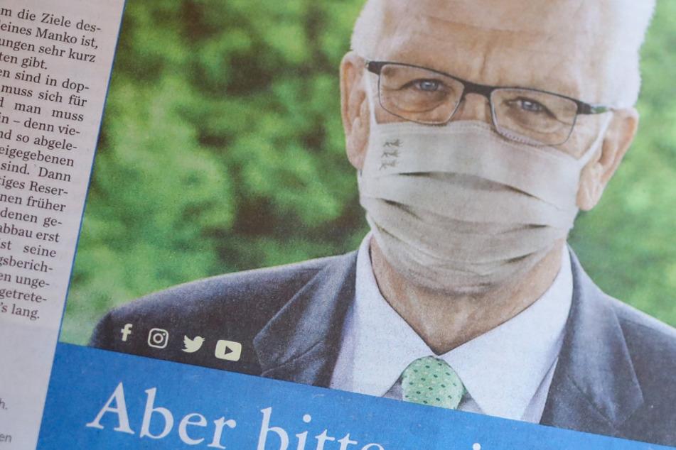 Coronavirus: So macht Kretschmann jetzt Werbung für die Maskenpflicht