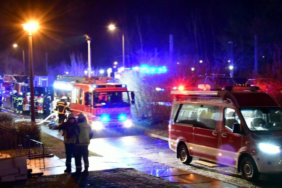 Massive Rauchentwicklung bei Brand in Görlitz: Rund 40 Personen evakuiert