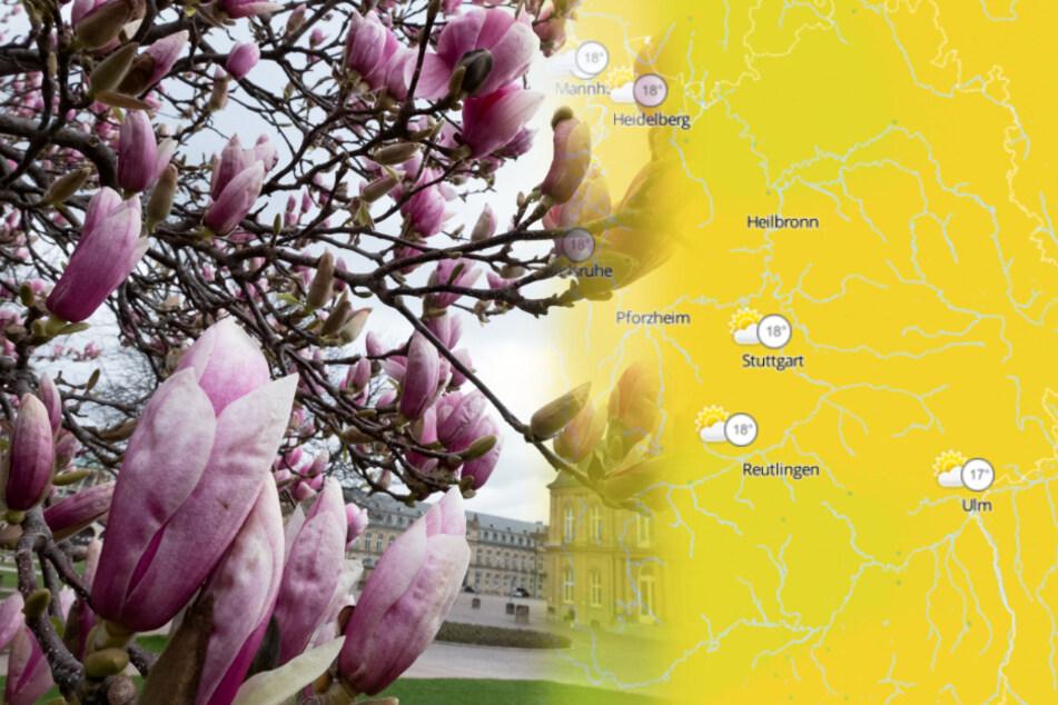 So wird das Wetter in Baden-Württemberg